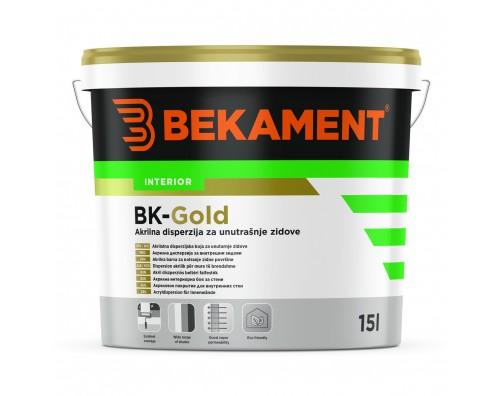 BEKAMENT BK - GOLD NOTRANJA BARVA