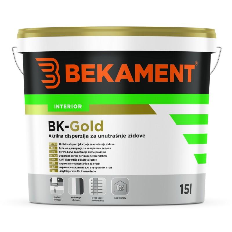 Barva za notranje stene BK - Gold