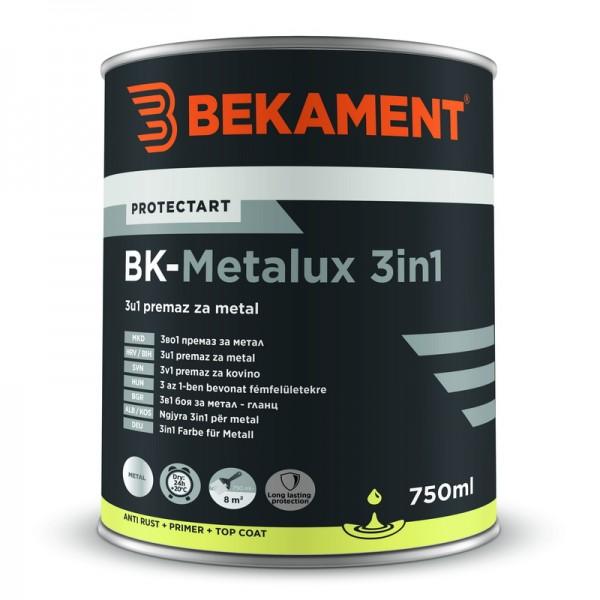 Barve za kovino 3 v 1 BK - METALUX Bekament