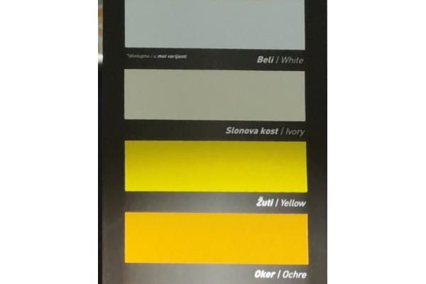 Barvne nianse - pokrivna barva za les in kovino BK - EMAJL CLASSIC Bekament 1