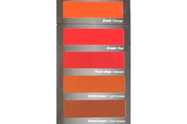 Barvne nianse - pokrivna barva za les in kovino BK - EMAJL CLASSIC Bekament 2