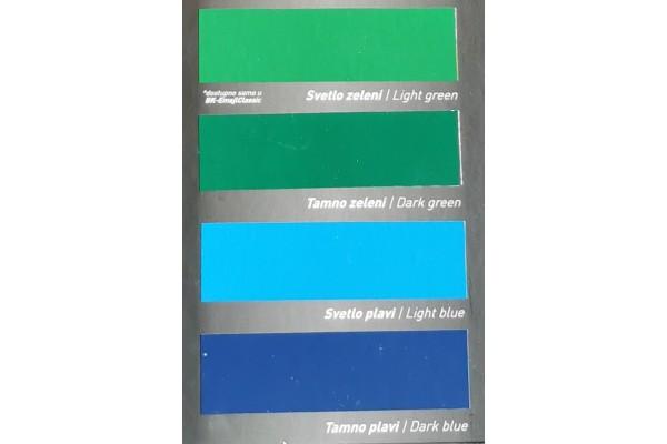 Barvne nianse - pokrivna barva za les in kovino BK - EMAJL CLASSIC Bekament 3