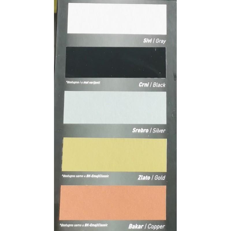 Barvne nianse - pokrivna barva za les in kovino BK - EMAJL CLASSIC Bekament 4