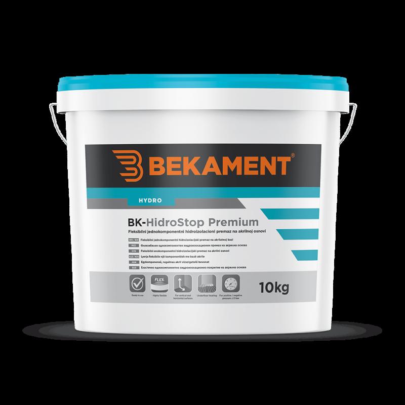 Hidroizolacijski premaz BK - HidroStop PREMIUM Bekament