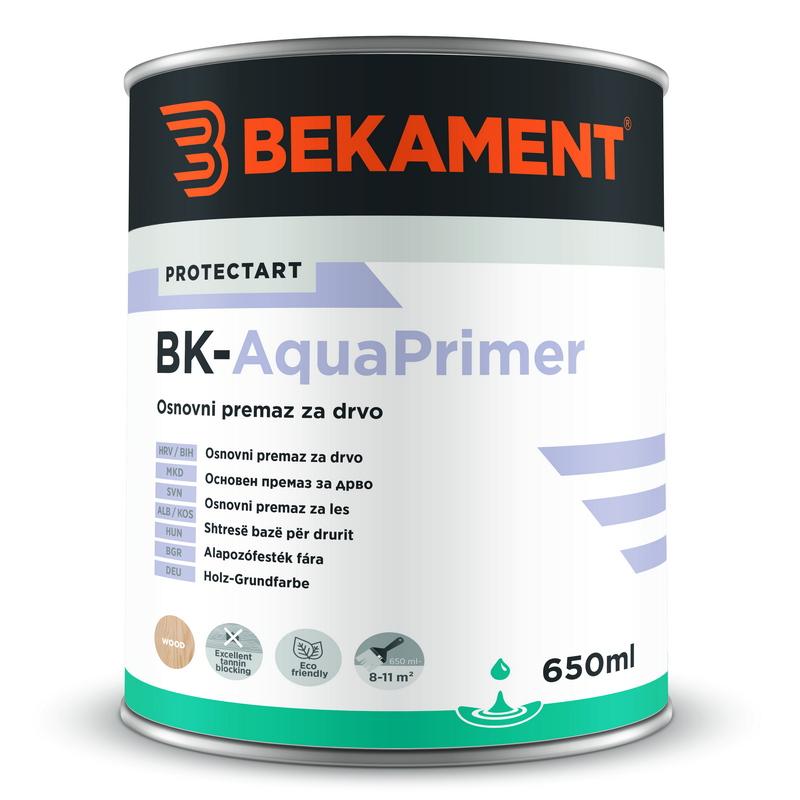 Osnovna barva za les BK - AQUAPRIMER Bekament