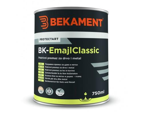 Pokrivna barva za les in kovino BK - EMAJL CLASSIC