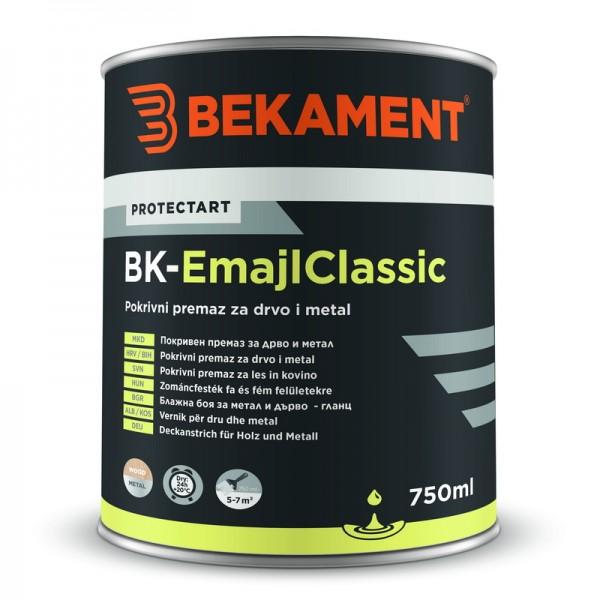 Pokrivna barva za les in kovino BK - EMAJL CLASSIC Bekament