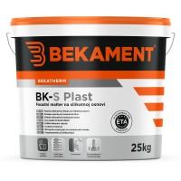 Tankoslojni silikatni fasadni omet BK - S PLAST