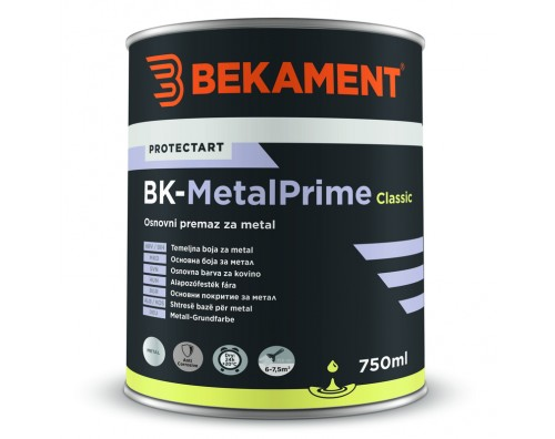 Temeljna barva za kovino BK - METALPRIME CLASSIC