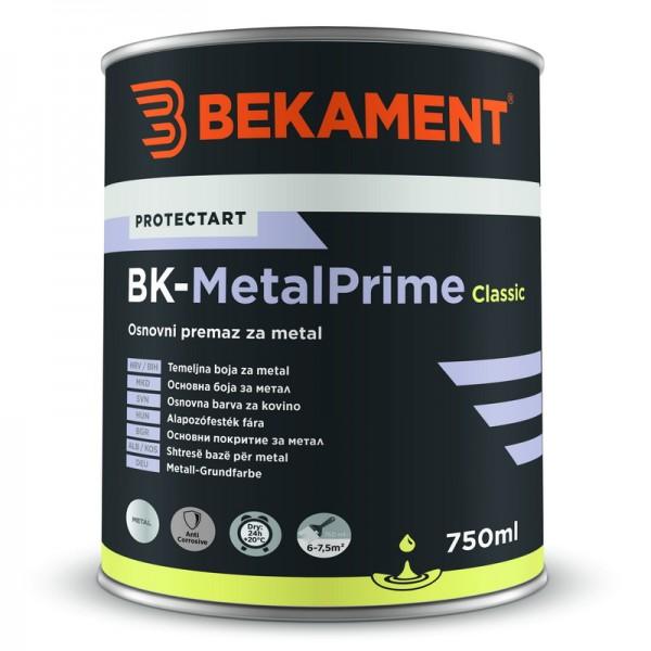 Temeljna barva za kovino BK - METALPRIME CLASSIC Bekament
