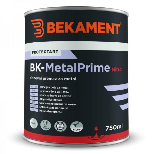 Temeljna barva za kovino BK - METALPRIME NITRO Bekament
