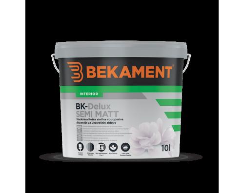Pralna barva za stene BK - DELUX SEMI MATT