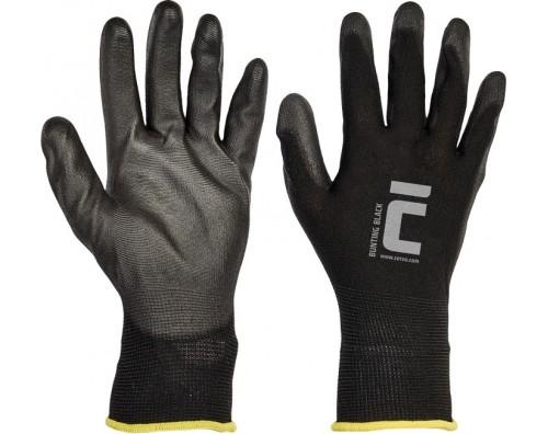 Zaščitne rokavice najlon črne BUNTING