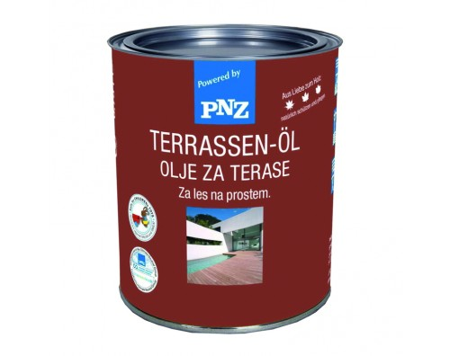 Olje za terase TERRASSEN OL Bangkirai PNZ