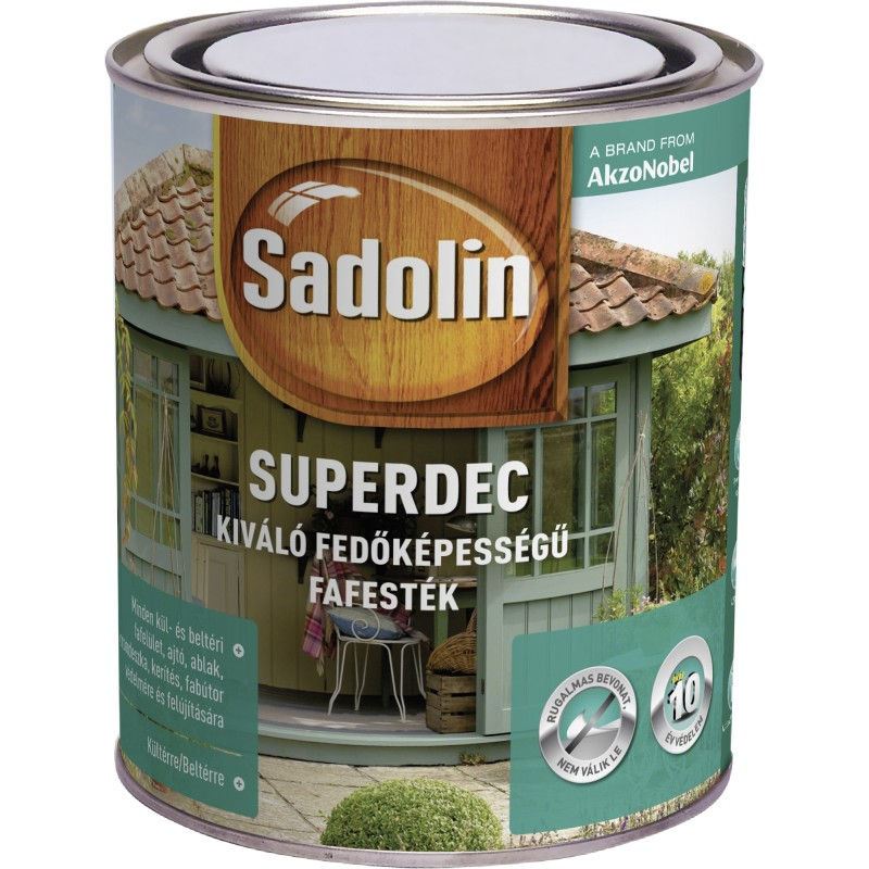 Pokrivne barve za les SADOLIN SUPERDEC