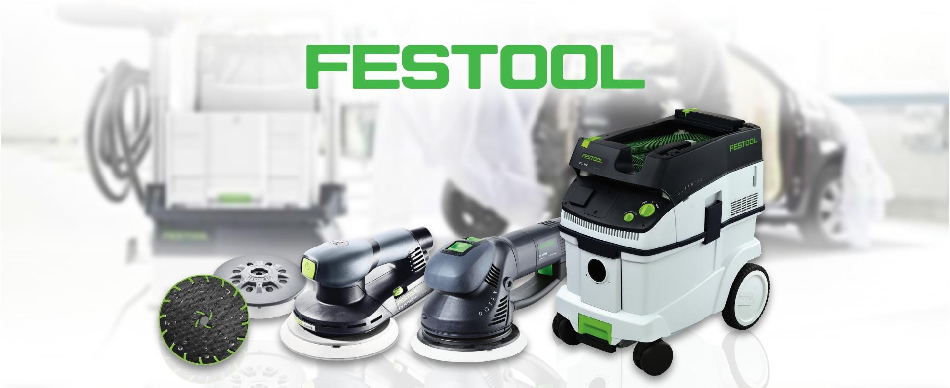 Profesionalni sistemi brušenja Festool