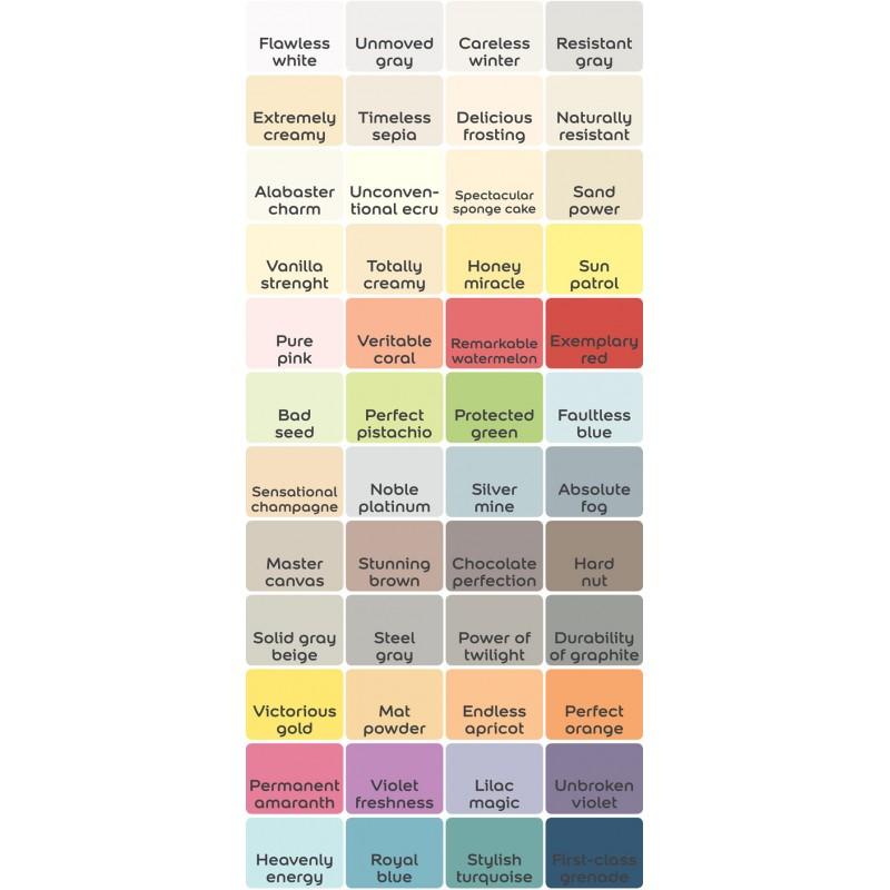 Barvni odtenki za tester Dulux EASYCARE
