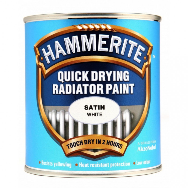 Barva za radiator Hammerite QUICK DRYING RADIATOR PAINT
