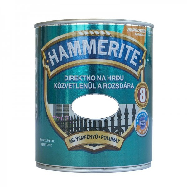 Polmat lak za kovino SATIN Hammerite