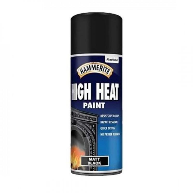 Temperaturni sprej HIGH HEAT PAINT Hammerite