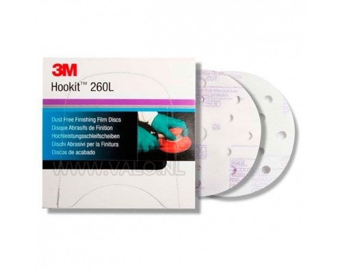 3M HOOKIT DISK FI 150MM PURPLE