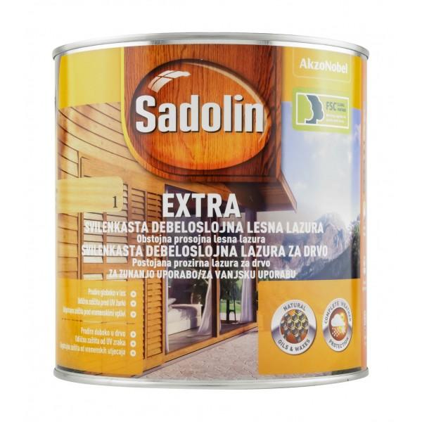 Debeloslojna barva za les SADOLIN EXTRA