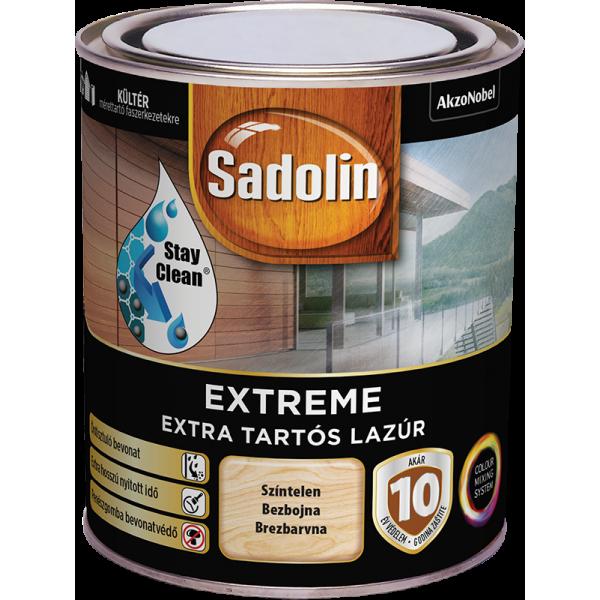 Barve za les na vodni osnovi EXTREME SADOLIN