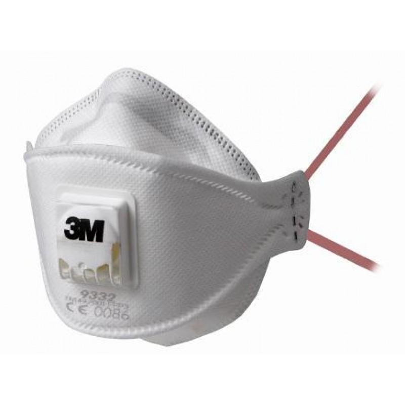 3M zaščitna maska FFP3 z ventilom AURA 9332+