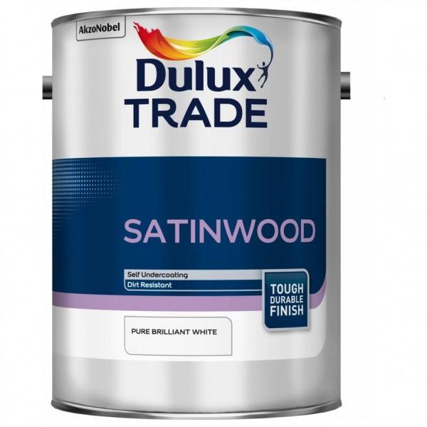 Notranja barva za les in kovino SATINWOOD Dulux