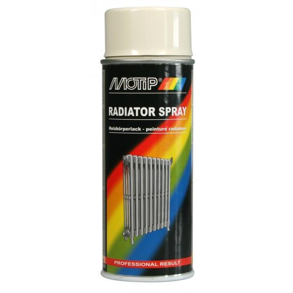 Barva za radiatorje v spreju RADIATOR SPRAY Motip
