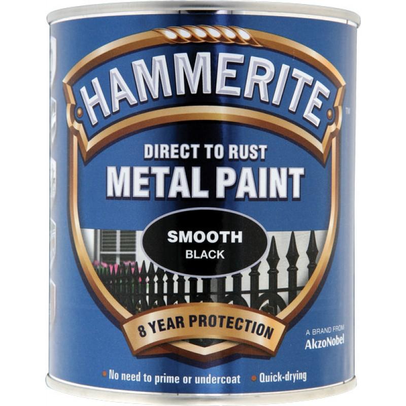 Sijajni lak za kovino SMOOTH Hammerite