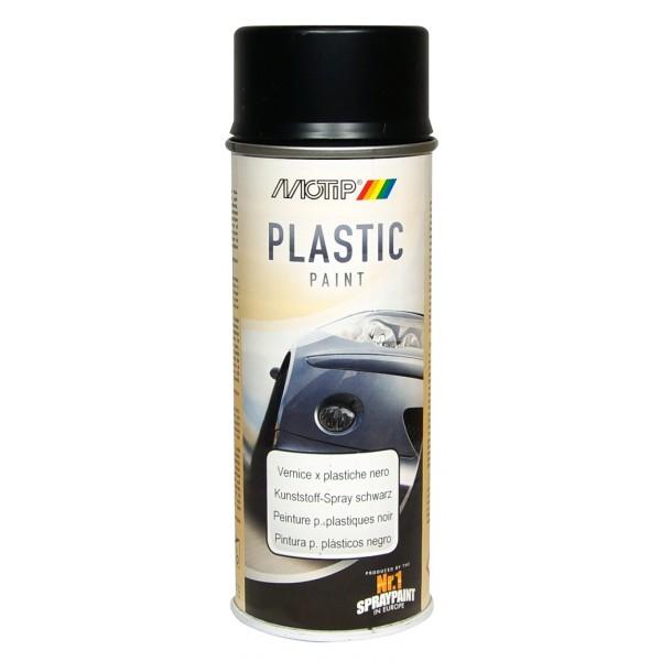 Sprej za plastiko SPECIAL PLASTIC PAINT Motip