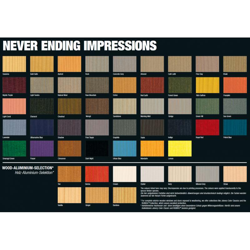Barvni odtenki Never Ending Impressions Sikkens v trgovini kupibarve.si