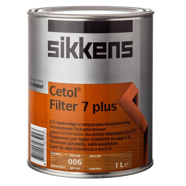 Zaščitna barva za les CETOL FILTER 7 PLUS